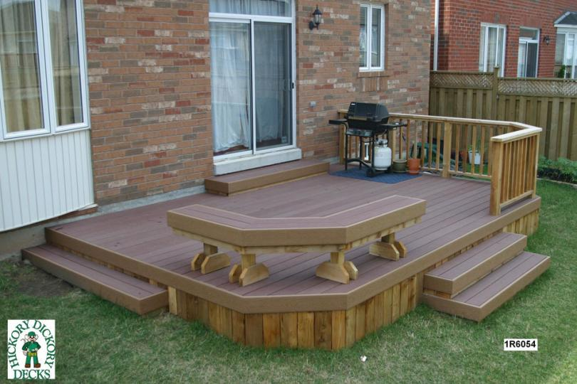 Low diy deck plans for How to build a low deck