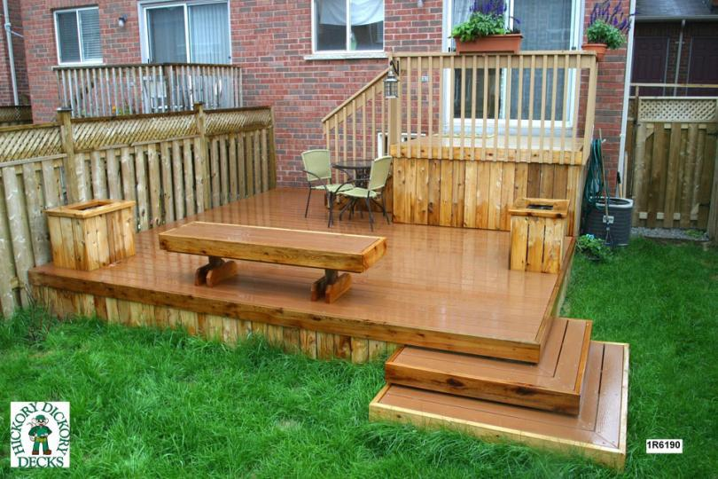 Bench Diy Deck Plans