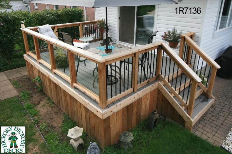 Deck Plan 1r7136 Diy Plans