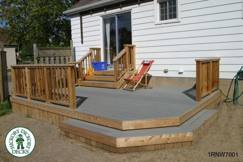 Low Single Level Rectangular Deck 1rnw7001
