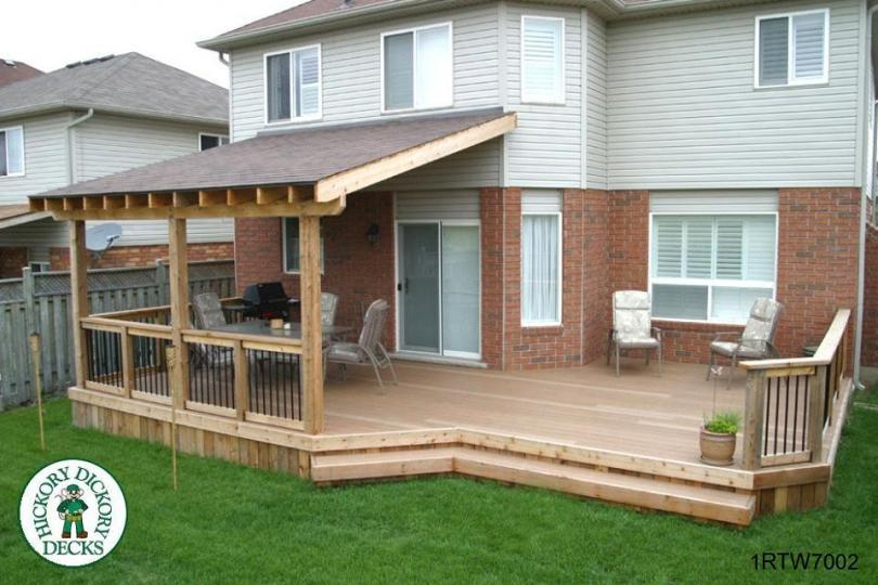 roof diy deck plans