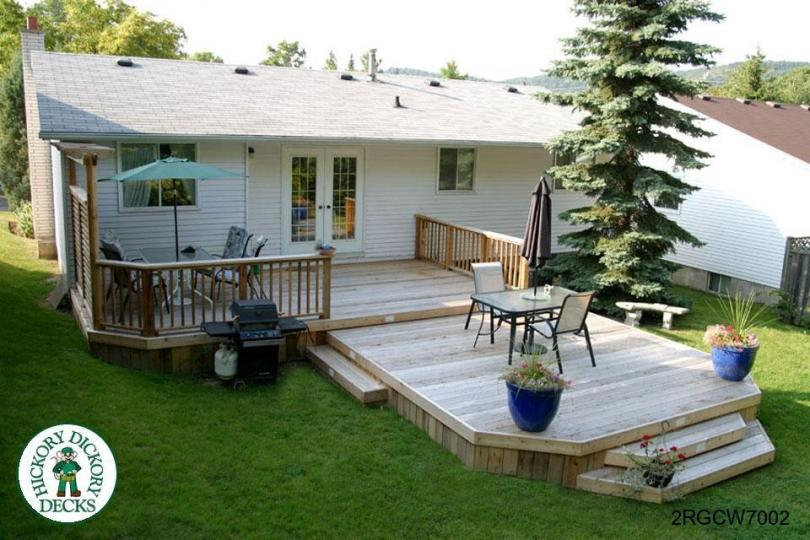 Deck designs diy deck design - Mobile home deck designs ...