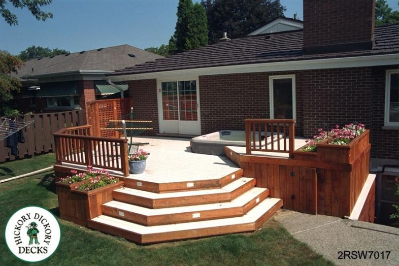 2-level | DIY Deck Plans