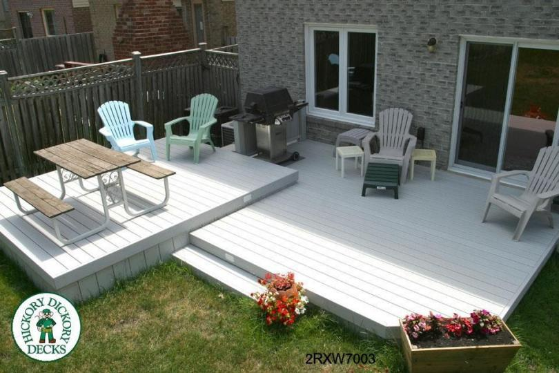 2 level diy deck plans for 16 by 16 deck plans