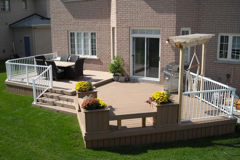 2 Level Diy Deck Plans